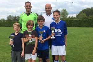 Foto: Winnaars penaltybokaal jeugd