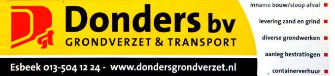 Donders Grondverzet- en Transportbedrijf