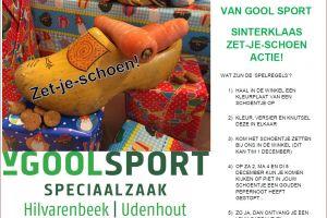 Sinterklaas bij Van Gool Sport