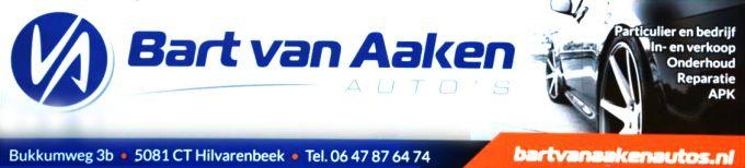 Bart van Aaken Auto's