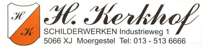 H. Kerkhof schilderwerken