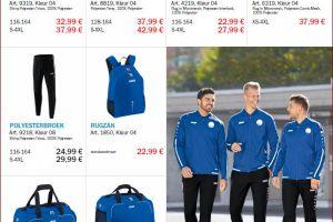 Nieuwe kledinglijn van SVSOS door Van Gool Sport
