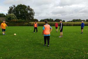 Walking Football rustig aan gestart
