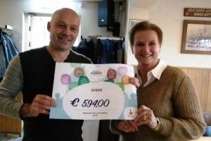 Mooi bedrag van Rabobank Clubkas voor onze club!
